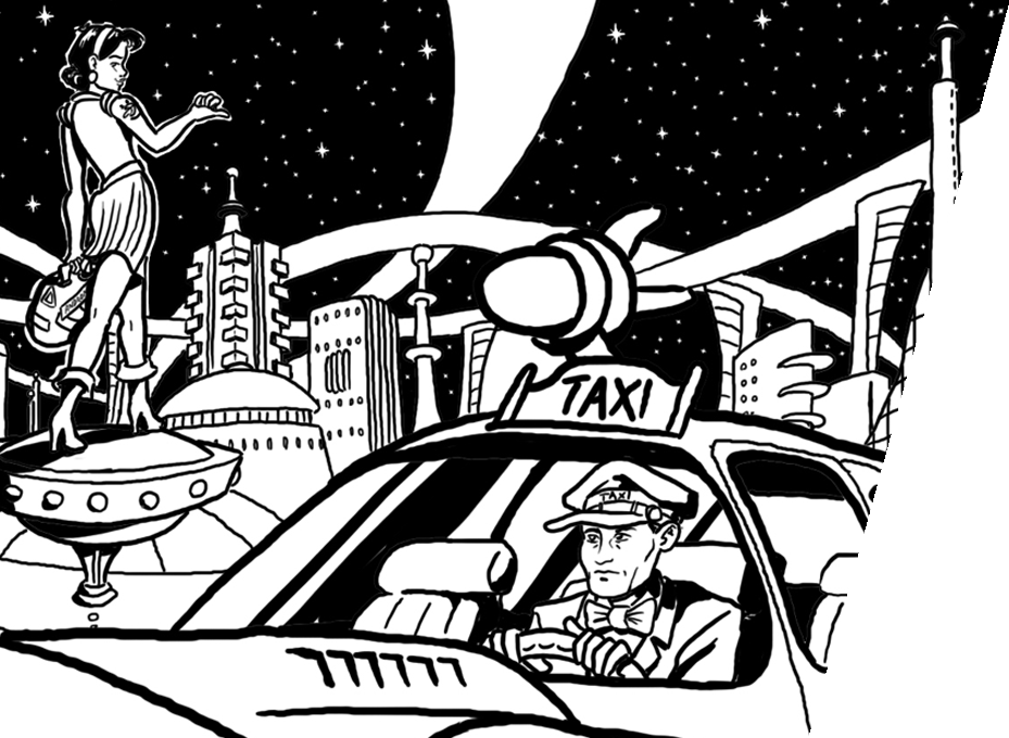 Space Cabby