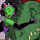 Princess of Space Sample Page 1