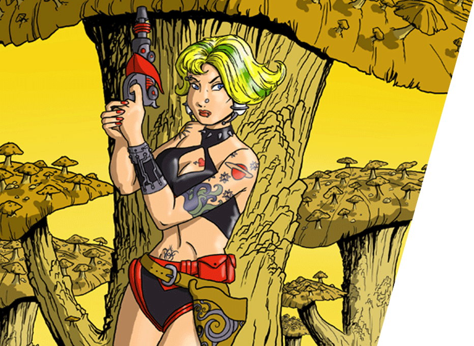 Girls of the Abyss: Commander Trish